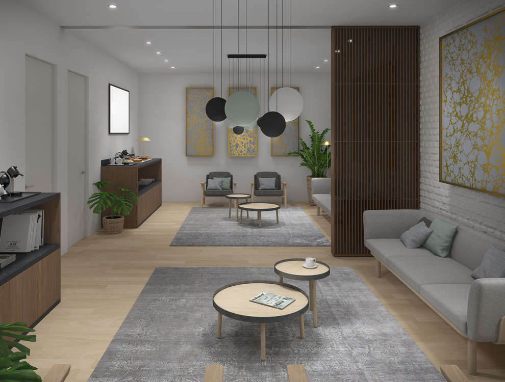 3D RENDERING INTERIOR UP TO YOU STUDIO DESIGN