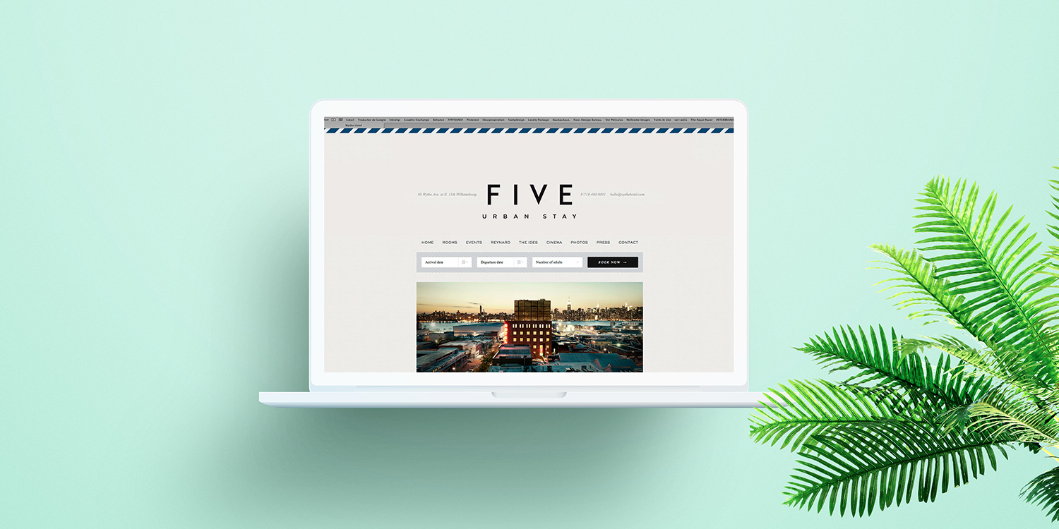 HOTEL FIVE UP TO YOU STUDIO HOSPITALITY & LEISURE GLOBAL CONCEPT DESIGN INTERIOR DESIGN BRAND IDENTITY