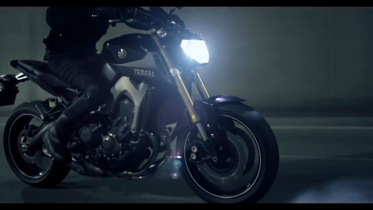 YAMAHA MT 09 UP TO YOU STUDIO AUTOMOTIVE & TECHNOLOGY COMMERCIAL & ADVERTISEMENT SET DESIGN EPHEMERAL DESIGN COSTUME DESIGN