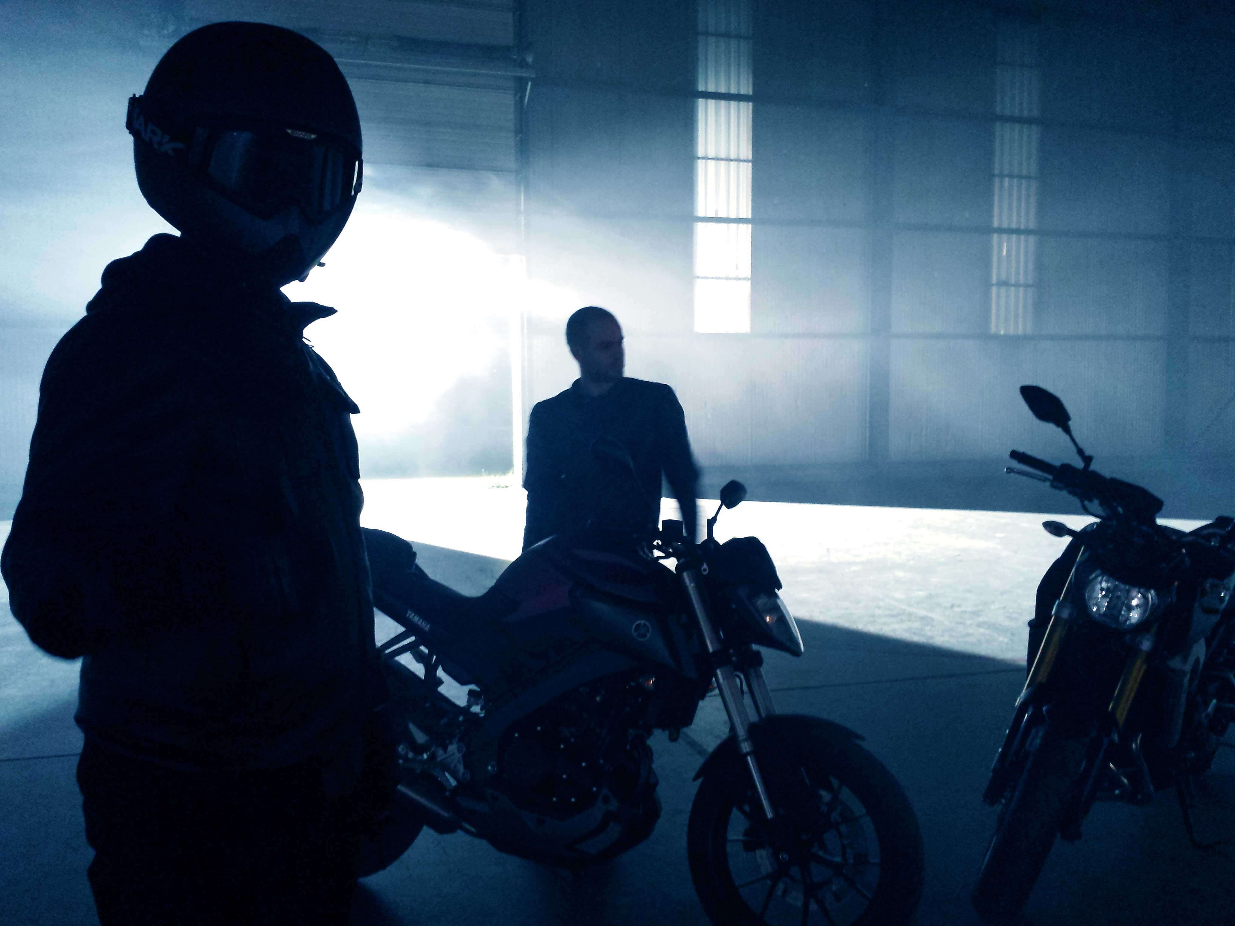 YAMAHA MT 125 UP TO YOU STUDIO AUTOMOTIVE & TECHNOLOGY COMMERCIAL & ADVERTISEMENT SET DESIGN EPHEMERAL DESIGN COSTUME DESIGN